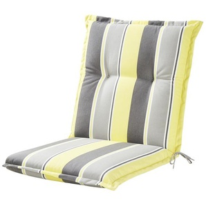 KETTLER Polska Auflage  Stripes ¦ gelb ¦ Maße (cm): B: 50 H: 8
