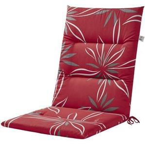KETTLER Polska Auflagenserie  Red Bloom Alutex ¦ rot ¦ Maße (cm): B: 50 H: 4