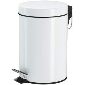 KHG Kosmetikeimer 3 l - weiß - Aluminium - 26 cm   Möbel Kraft