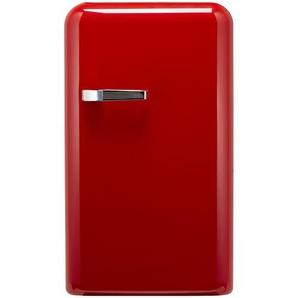 KHG Kühlschrank  KSR-550MG (R) ¦ rot ¦ Metall-lackiert, Kunststoff ¦ Maße (cm): B: 54,5 H: 96 T: 62 Elektrogeräte  Kühlschränke » Höffner