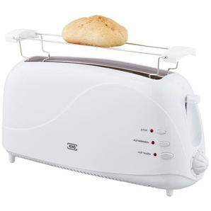 KHG Langschlitz-Toaster  TO-1003LS (W) - weiß - Kunststoff, Metall - 41 cm - 19,3 cm - 12,5 cm | Möbel Kraft