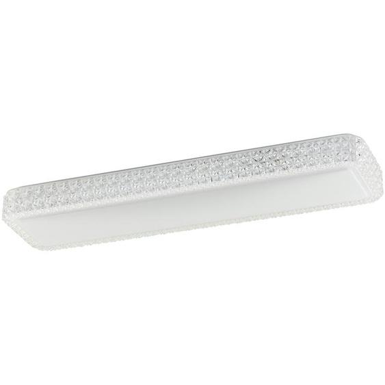 KHG LED-Deckenleuchte, 1-flammig mit Sternenhimmeloptik - weiß   Möbel Kraft