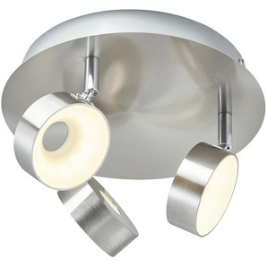KHG LED-Spot, 3-flammig Nickel matt ¦ silber Ø: 24