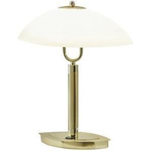 KHG LED- Tischleuchte, Schiffchenglas | gold | 11,5 cm | 38 cm | Möbel Kraft
