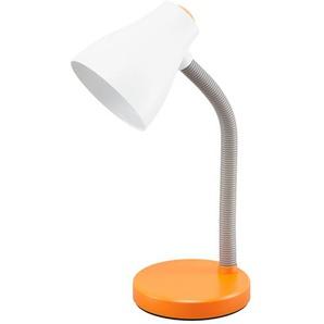 KHG Tischleuchte, 1-flammig, orange/weiß ¦ orange Ø: 14