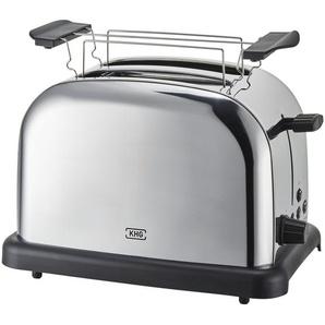 KHG Toaster  TO-1005 (ES) - silber - Kunststoff, Edelstahl - 30 cm - 20 cm - 18,3 cm | Möbel Kraft
