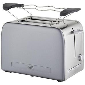 KHG Toaster  TO-1050 (GE) - grau - Kunststoff, Metall-lackiert, Edelstahl - 31,7 cm - 18,8 cm - 21 cm | Möbel Kraft
