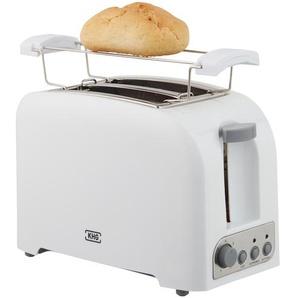 KHG Toaster  TO-750 (W) - weiß - Kunststoff, Metall - 25 cm - 18 cm - 15 cm | Möbel Kraft