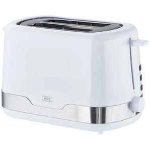 KHG Toaster  TO-857 WE2 - weiß - Edelstahl, Metall, Kunststoff - 30 cm - 18 cm - 16,5 cm | Möbel Kraft