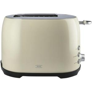 KHG Toaster  TO-858 CE - creme - Edelstahl, Kunststoff - 31 cm - 20 cm - 18 cm | Möbel Kraft