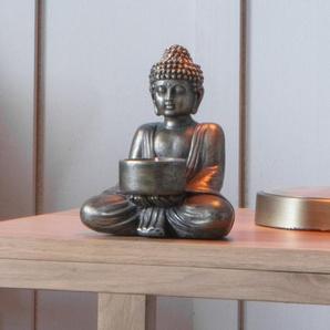 Khumen Buddha Metall Teelicht