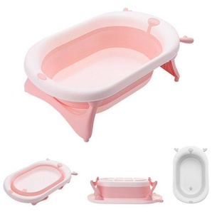 Kikkaboo Babywanne »faltbare Babybadewanne Foldy«, Wasserablauf, leicht zu reinigen, ab Geburt