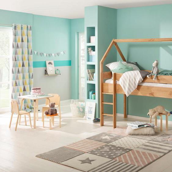 Kinder-Bett  »Alpi«, beige, Material Kiefernholz, Lüttenhütt»Alpi«