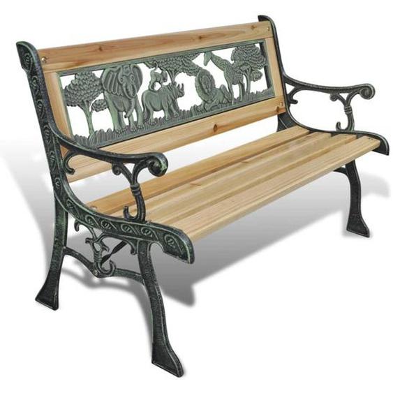 Kinder-Gartenbank 84 cm Holz