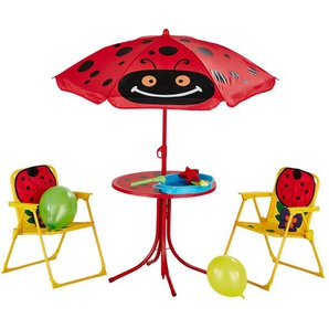 Kinder-Gartenset  Marie | rot | Möbel Kraft