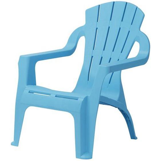Kinder-Gartenstuhl | blau | Kunststoff |