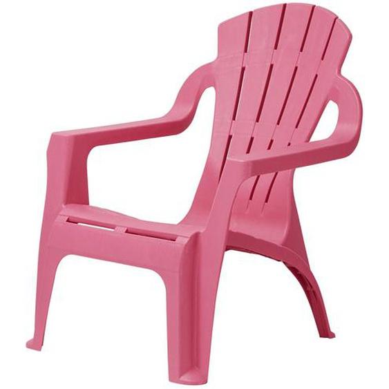 Kinder-Gartenstuhl | rosa/pink | Kunststoff |