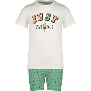 Kinder-Kurzpyjama Grün