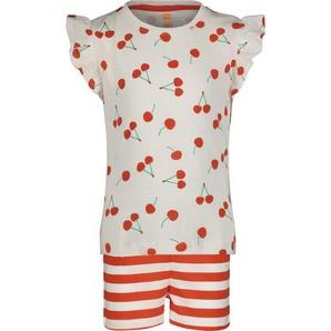 Kinder-Kurzpyjama Rot