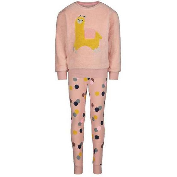 Kinder-Pyjama Alpaka Hellrosa