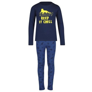 Kinder-Pyjama Blau