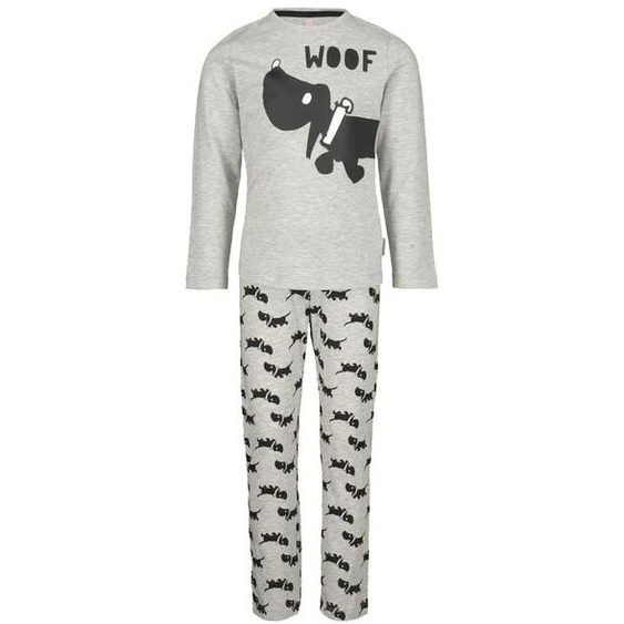 Kinder-Pyjama, Takkie Graumeliert