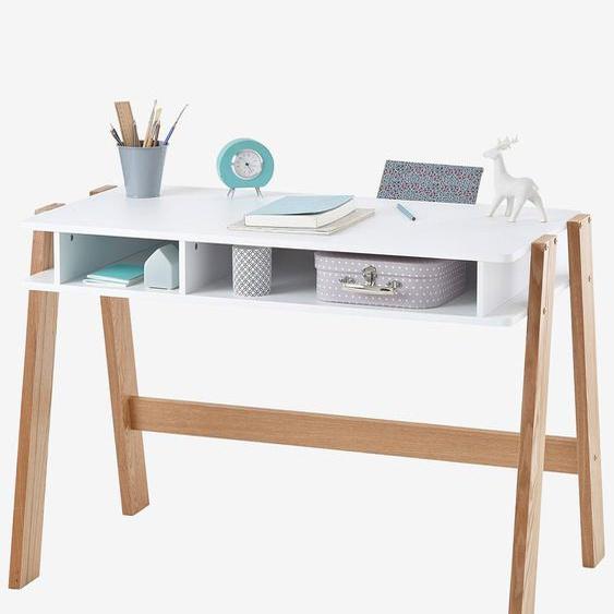 """Kinder Schreibtisch """"Architekt Junior weiß/natur"""