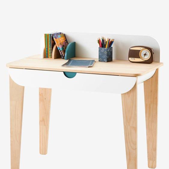 """Kinder Schreibtisch """"Seventies"""" weiß/natur"""