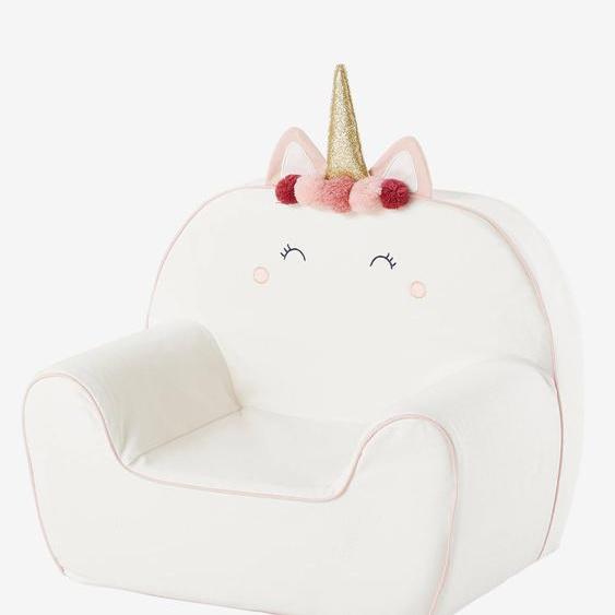 Kinder-Sessel, personalisierbar weiß
