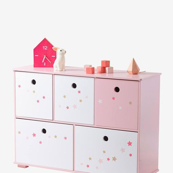 Kinder Sideboard Feenzauber rosa/sterne