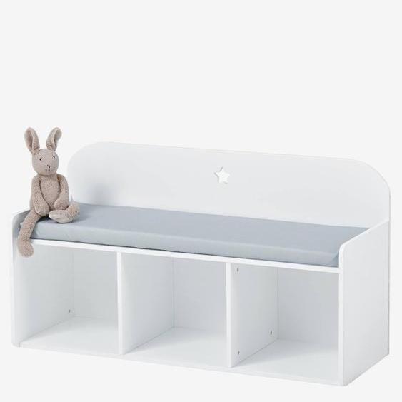 Kinder-Sitzbank ,,Sirius weiß/grau