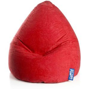 Kinder Sitzkissen in Rot Waschbar