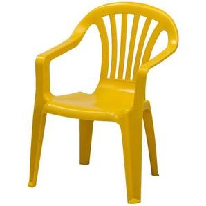 Kinder-Stapelsessel | gelb | Kunststoff | Möbel Kraft