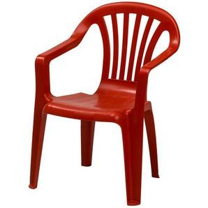 Kinder-Stapelsessel | rot | Kunststoff | Möbel Kraft