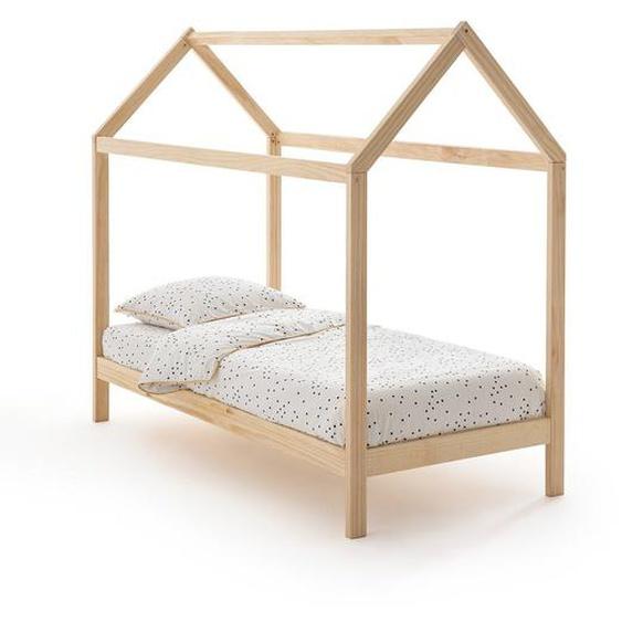 Kinderbett Archi In Haus-form, Kiefer Massiv