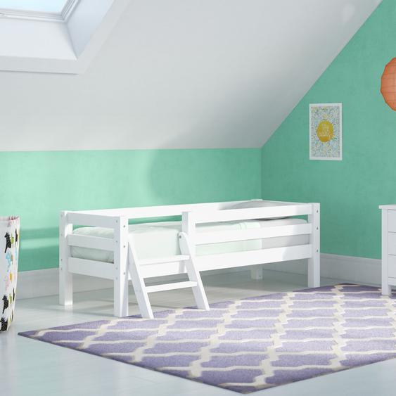 Kinderbett Basic mit Rausfallschutz, 70 x 160 cm