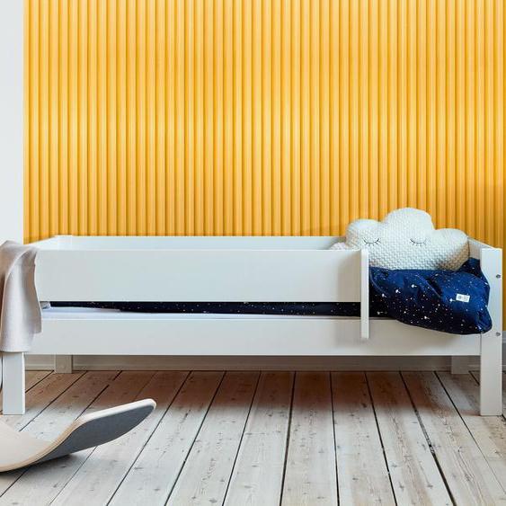 Kinderbett Tacora, weiß, 90x200 cm, mit Absturzsicherung