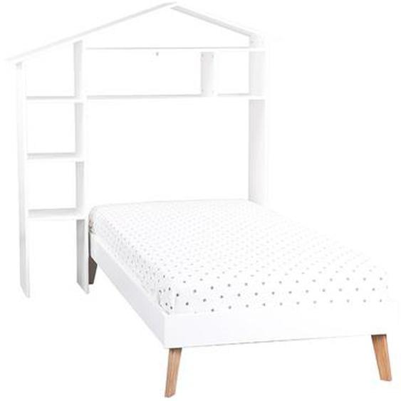 Kinderbett und Kopfteil mit Stauraum HOME