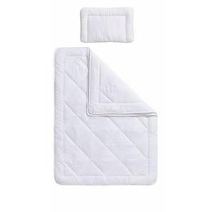 Kinderbettdecke + Kopfkissen, »Finn«, RIBECO, normal, Material Füllung: Polyester, (Set)