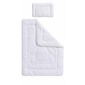 Kinderbettdecke + Kopfkissen, »Luis«, RIBECO, normal, Material Füllung: Polyester, (Set)