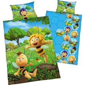 Kinderbettwäsche »Biene Maja«, Die Biene Maja, mit Willi