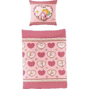 Kinderbettwäsche »Herz«, Prinzessin Lillifee, Lizenzbettwäsche Prinzessin Lillifee
