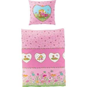 Kinderbettwäsche »Reh«, Prinzessin Lillifee, Lizenzbettwäsche Prinzessin Lillifee