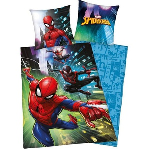 Kinderbettwäsche »Spiderman«, Marvel, mit Spiderman Motiv