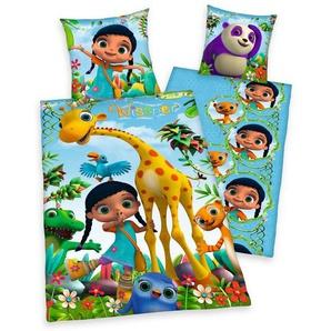 Kinderbettwäsche »Wissper und Freunde«, mit vielen Tieren