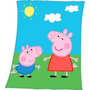 Kinderdecke »Peppa Pig«, mit tollem Peppa Pig Motiv