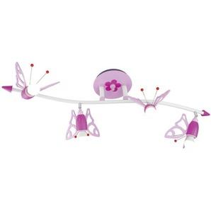 : Deckenleuchte, Rosa, Weiß, Pink, B/H/T 100 25 25