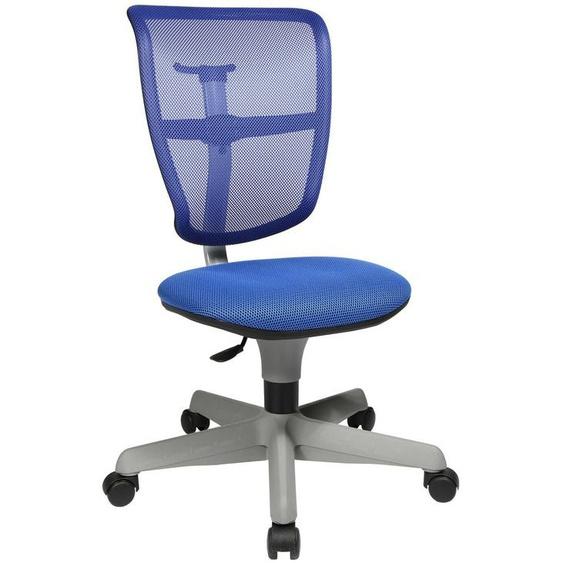 Kinderdrehstuhl Schreibtischstuhl Bürostuhl Topstar Air Smaxx Blau