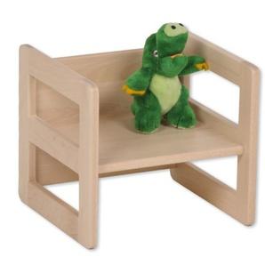 Kinderhocker Holz Wendehocker Kinder Buche Kinderstuhl mit Armlehne