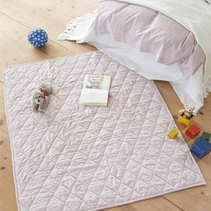 Kinderquilt rosa - Rosa/Weiß - 100 % Baumwolle - Tagesdecken & Quilts - Überwürfe & Sofaüberwürfe